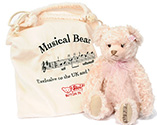 Steiff Candle in the Wind Pink Musical Bear