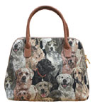 Labrador Tapestry Convertible Bag