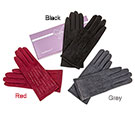 Crystal Lines Boxed Gloves Black