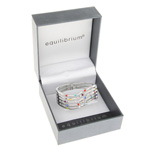 Random Diamond Hinged Bangle Multi Colour