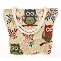 Tapestry Cute Owls Tote Bag