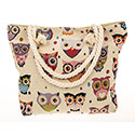Tapestry Owls Tote Bag