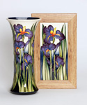 Moorcroft Iris Shaddows 159-10