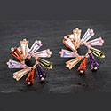 Earrings Colourful Wheel Earrings