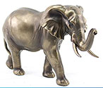 Art Bronze Elephant Large