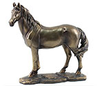 Art Bronze Horse Large