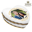 Royal Wedding China Heart Box