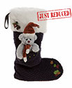 Charlie Bears Christmas Stocking Christmas Eve Blue