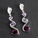 Earrings 4 Shades Purple