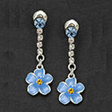 Earrings Forget Me Not