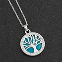 Necklace Sea Breeze Tree of Life