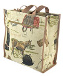 Horse Tapestry Shopper Bag