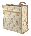 Pink Rose Tapestry Shopper Bag