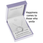 Necklace Silver Happiness Ring Necklace