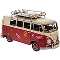 Tin Transport Campervan Red