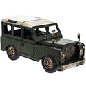 Tin Transport Land Rover Green