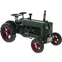 Tin Transport Green Tractor