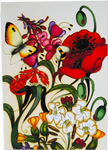 Moorcroft Cards A Family Through Flowers