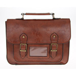 Classic A4 Brown Satchel