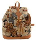 Bear Tapestry Backpack