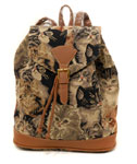 Cat Tapestry Backpack