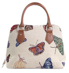 Butterfly Tapestry Convertible  Bag