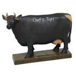 Blackboard Cow Money Box