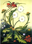 Moorcroft Cards Dandelion Meadow