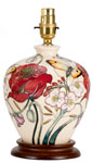 Moorcroft A Family Through Flowers Lamp L8-6