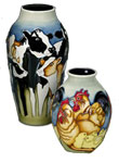 Moorcroft Fowlers Farmyard Chicken