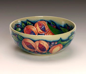 Moorcroft Green Pomegranate