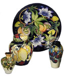 Moorcroft Mediterranean Collection Passion Fruit