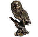 Art Bronze Owl Large