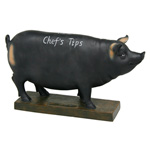 Blackboard Pig Money Box