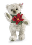 Steiff Poinsettia Teddy Bear