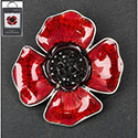 Brooch Poppy