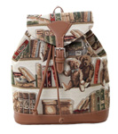 Bear and Book Tapestry Backpack