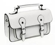 Classic Small Satchel White