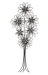 Silver Petal Bouquet Wall Art