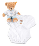 Steiff Sleep Well Bear Blue Boxed Gift Set