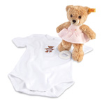 Steiff Sleep Well Bear Pink Boxed Gift Set