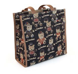 London Bear Tapestry Shopper Bag