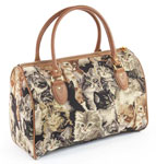 Cat Tapestry Holdall