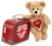 Steiff The True Brit suitcase Bear